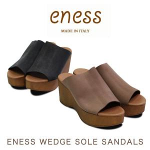 ENESS エネス WEDGE SOLE SANDALS ウ...