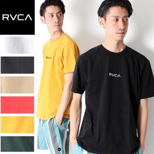 新作 RVCA ルーカ SMALL LOGO SS Tシャツ 半袖 ロゴ AJ041-241 半袖T...