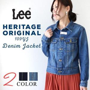 リー Lee HERITAGE ORIGINAL 109YJ デニムジャケット ウィメンズ アウター...