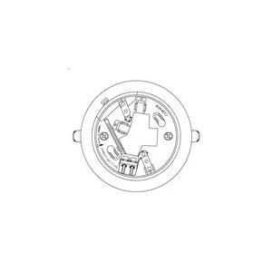 【Panasonic パナソニック】確認灯付速結式感知器ベース埋込型(コネクタなし)[BVK4017]|jyakudenkan