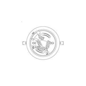 【Panasonic パナソニック】確認灯付感知器ベース(2信号感知器用)埋込型[BV4867]|jyakudenkan