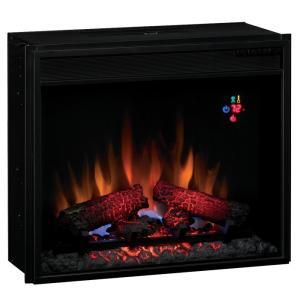 【LLOYD GRANDE/ロイドグランデ】電気式暖炉23インチライン/23インチ電気式暖炉本体クラシック(1500W/100V)(専用昇圧トランス付)(リモコン付)|jyakudenkan