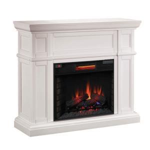 【LLOYD GRANDE/ロイドグランデ】電気式暖炉28インチライン/暖炉棚アルテシアン(暖炉棚+ 本体セット)|jyakudenkan