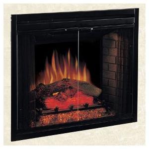 【LLOYD GRANDE/ロイドグランデ】電気式暖炉ビルトイン&コンパクトライン/39インチ 1440W(1440W/100V)(専用昇圧トランス付)(リモコン付)|jyakudenkan