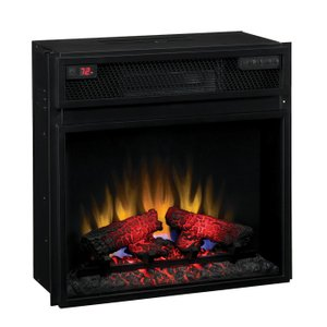 【LLOYD GRANDE/ロイドグランデ】電気式暖炉23インチライン/23インチ電気式暖炉本体パワーヒート(1000W/100V)|jyakudenkan