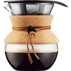 プアオーバーは、ステンレス製のコーンフィルターを使用した、ドリップ式のコーヒーメーカーです。油分を吸...