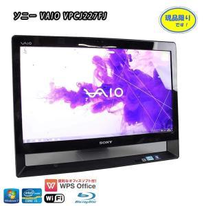 中古一体型パソコン ソニー VAIO Jシリーズ VPCJ227FJ ブラック Core i5 24...