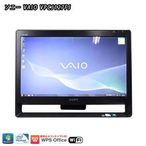 ☆SONY/VAIO VPCJ127FJ (PCG-11212N) マットブラック(黒) ★新品US...