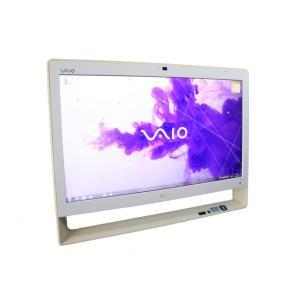 訳あり 中古 一体型パソコン ソニー VAIO VPCJ228FJ ホワイト Core i5  24...