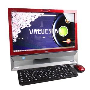 美品 ★限定1台★ 中古 一体型パソコン NEC VALUESTAR VS370/S レッド Win...