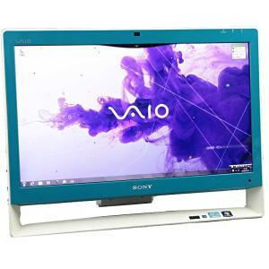 中古一体型パソコン SONY ソニー VAIO VPCJ248FJ ブルー Windows7 21....