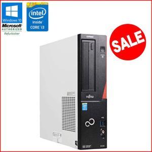 在庫わずか! 限定セール! 中古 デスクトップパソコン 富士通   ESPRIMO D552/K Windows10 Pro Core i3 4160 3.60GHz メモリ4GB HDD320GB DVDマルチ|jyohokaikan-ys