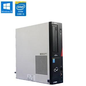 中古 デスクトップパソコン 富士通 (FUJITSU) ESPRIMO D583/J Windows10 Home Core i5 4590 3.30GHz メモリ8GB HDD500GB DVD-ROMドライブ|jyohokaikan-ys