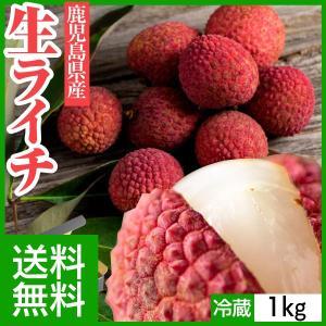 中元 ギフト 国産 生ライチ フレッシュ  1kg 送料無料 鹿児島県