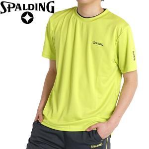 8ed895a67ae7f6 tシャツ メンズ スポーツウェア ジャージ 上 トレーニングウェア 半袖 速乾 夏 ルームウェア インナー スポルディング ゆったり 6380
