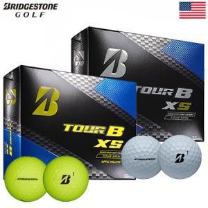 ブリヂストンゴルフ BRIDGESTONE GOLF 2017 TOUR B XS ボール 1ダース [フィーリング+飛距離性能](USA直輸入品)|jypers