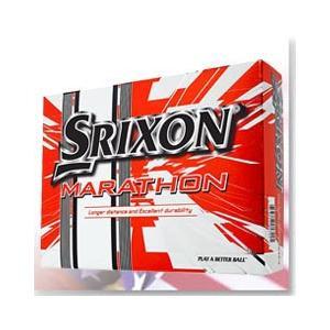 スリクソン SRIXON MARATHON(マラソン) ボール 1ダース(USA直輸入品)【CH22】