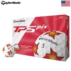 テーラーメイド 2019 TP5 Pix ゴルフボール USA直輸入品|jypers