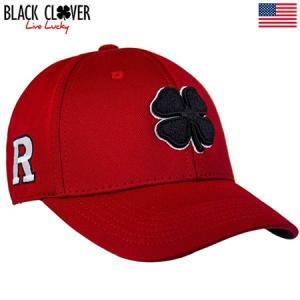 ブラッククローバー Black Clover ゴルフキャップ RUTGERS UNIVERSITY PREMIUM L/XL USA直輸入品|jypers