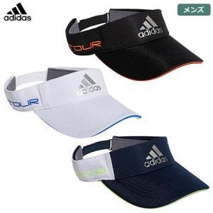 アディダス ツアーメタリックロゴバイザー GUX86 メンズ サンバイザー 帽子 adidas 20...