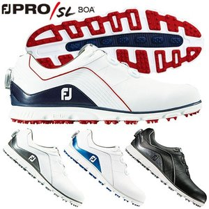 フットジョイ FOOTJOY メンズ FJ NEW FJ Pro/SL Boa スパイクレスシューズ...