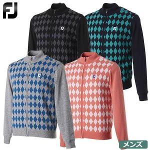 人気の高いアーガイル柄を使用した総裏地付きのフルジップセーター。  【製品仕様】 ■品番:FJ-F1...