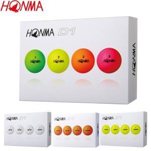 本間ゴルフ HONMA New-D1 ゴルフボール (2019年モデル・ダース単位) 1ダース