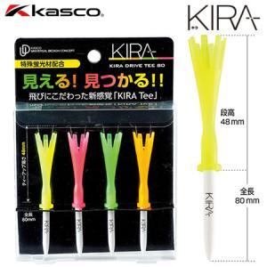 キャスコ Kasco KIRA ドライブティー80 全長80mm|jypers