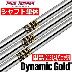 トゥルーテンパー ダイナミックゴールド スチールシャフト単品 [2I用、3I用、4I用、ウェッジ用]