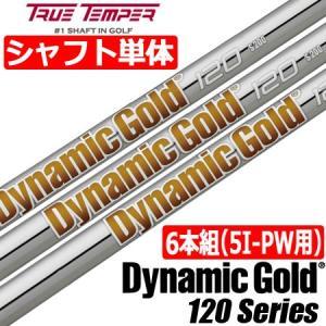 トゥルーテンパー DynamicGold 120 (ダイナミックゴールド120) スチールシャフト単品 [6本組/5I-PW用]