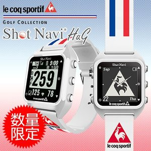 Shot Navi ショットナビ HuG lecoq sportif モデル 腕時計型GPSナビ jypers