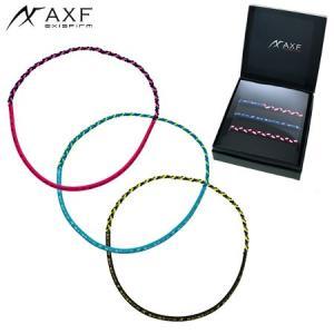 AXF アクセフ Color Band(Logo) 218452 ネックレスタイプ ヘアバンド カラーバンド