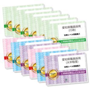 愛知県職員採用(大卒程度)教養+(行政)専門試験合格セット(9冊)|jyuken-senmon