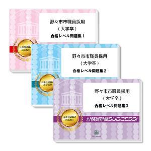 野々市市職員採用(大学卒)教養試験合格セット(3冊)|jyuken-senmon