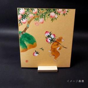 国産杉材色紙立の詳細画像3