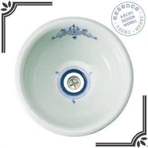 イブキクラフト ESSENCE 手洗器 E217140  手洗器 Mラウンド コレクティブルズ|jyusetsu-hanbai