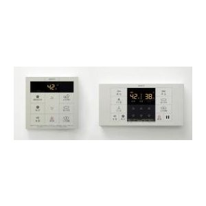 ノーリツ リモコン シンプルタイプ RC-B001マルチセット(台所リモコン・浴室リモコン) 0706256 jyusetsu-komatsuya
