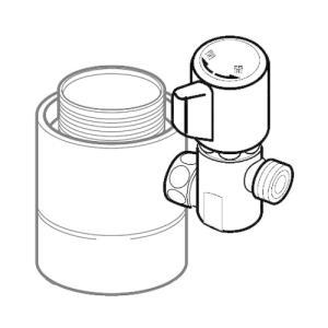 ●タカギ製のシングルレバー式(デッキタイプ)に適合します。 ●取り付け後約60mm高くなります。 ●...