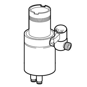 ●タカギ製のシングルレバー式(デッキタイプ)に適合します。 ●取り付け後約84mm高くなります。 ●...