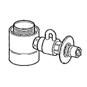 ●タカギ製のシングルレバー式(デッキタイプ)に適合します。 ●食器洗い乾燥機専用 ●給水・給湯兼用 ...