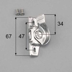 ●品種: 台座寸法(66-67) ●色: シルバー ●内容物: 本体×1、取付ネジセット×1 ●寸法...