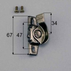 ●品種: 台座寸法(66-67) ●色: ブロンズ ●内容物: 本体×1、取付ネジセット×1 ●寸法...