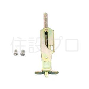 【メール便対応】LIXIL(トステム) 雨戸錠(上下兼用) めっき仕上げ 【品番:C1X01】|jyusetsupro