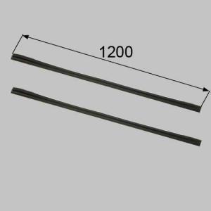 ●折れ戸扉の隙間隠しカバーです。設定機種より古いものに使用できます。●色: ブラック ●内容物: 本...