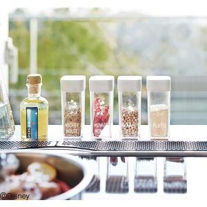 山崎実業 スパイスボトル プルート 1個 ホワイト 【品番:90008】|jyusetsupro