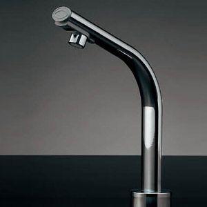 カクダイ 小型電気温水器(センサー水栓つき) 篝(かがり)[台][自動水栓][タッチレス水栓][高さ210mm] 239-001-2 jyusetu