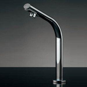 カクダイ 小型電気温水器(センサー水栓つき) 篝(かがり)[台][自動水栓][タッチレス水栓][高さ240mm] 239-001-3 jyusetu