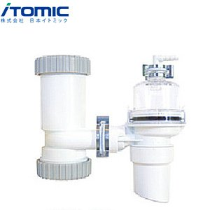 日本イトミック 小型電気給湯器専用膨張水排出装置[開放型][軽量・リーズナブルタイプ][流し(塩ビ管 呼び径40mm)用] BCH-2K jyusetu