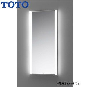 TOTO LED照明付化粧鏡[トイレ・洗面所用][スクエアデザインシリーズ][化粧照明タイプ]|jyusetu