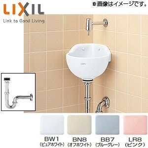 INAX 手洗器[隅付小形(壁付式)][壁給水][壁排水]|jyusetu